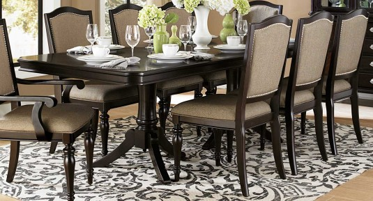 Homelegance Marston Rectangular Dining Table Available Online in Dallas Fort Worth Texas