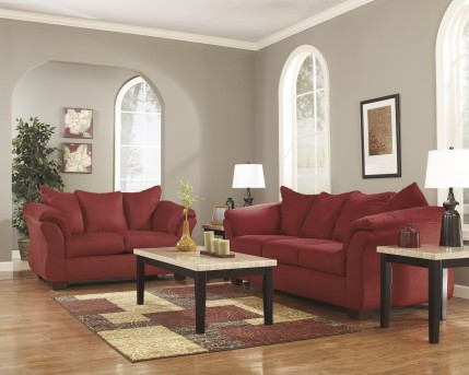 Ashley Darcy Salsa Sofa & Loveseat Set Available Online in Dallas Fort Worth Texas