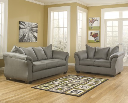 Ashley Darcy 2pc Sofa and Loveseat Set Available Online in Dallas Fort Worth Texas