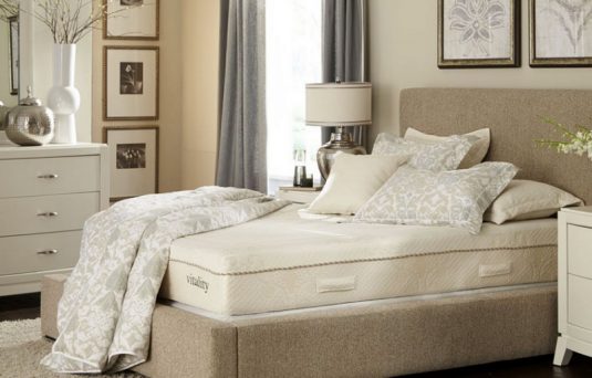 Vitality King Memory Foam Mattress & Box Set Available Online in Dallas Fort Worth Texas