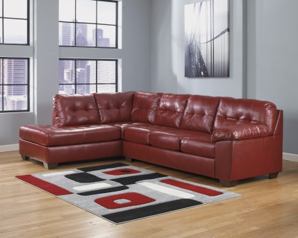 Ashley Alliston DuraBlend 2pc Sectional Left Side Chaise Available Online in Dallas Fort Worth Texas