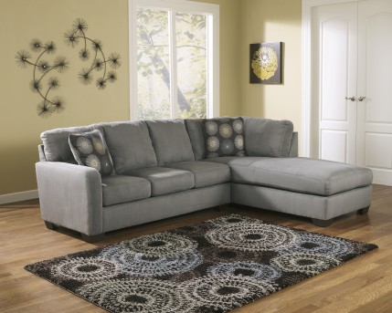 Ashley Zella 2pc Sectional Right Side Chaise Available Online in Dallas Fort Worth Texas