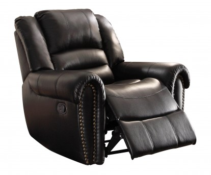 Homelegance Center Hill Black Glider Reclining Chair Available Online in Dallas Fort Worth Texas