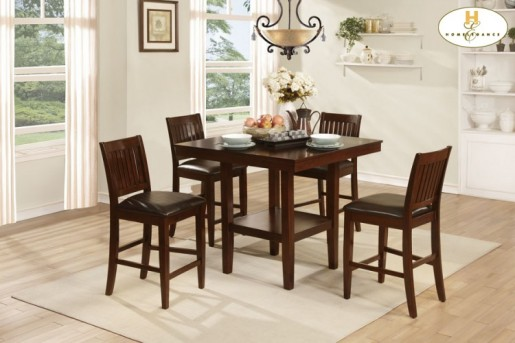 Galena 5pc Counter Height Dining Room Set Available Online in Dallas Texas