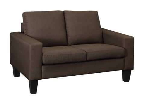 Coaster Bachman Chocolate Loveseat Available Online in Dallas Fort Worth Texas
