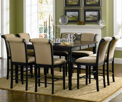 Coaster Cabrillo 9pc Counter Height Dining Set Available Online in Dallas Fort Worth Texas
