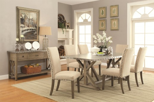 Coaster Webber 7pc Dining Room Set Available Online in Dallas Fort Worth Texas