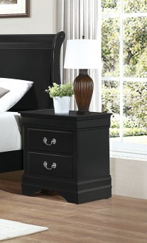 Homelegance Mayville Black Night Stand Available Online in Dallas Fort Worth Texas