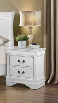 Homelegance Mayville White Night Stand Available Online in Dallas Fort Worth Texas