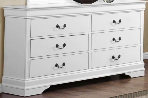 Homelegance Mayville White Dresser Available Online in Dallas Fort Worth Texas