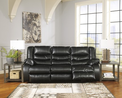 Ashley Linebacker Black Reclining Sofa Available Online In Dallas Fort  Worth Texas