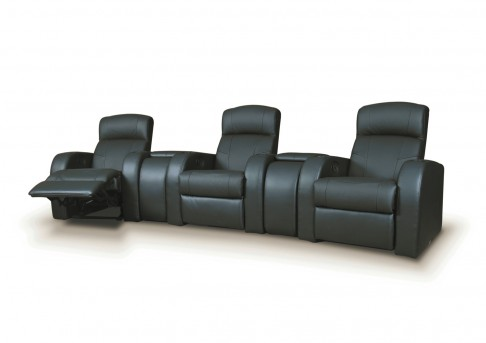 Coaster Cyrus Leather Media Seating Group Available Online in Dallas Fort Worth Texas