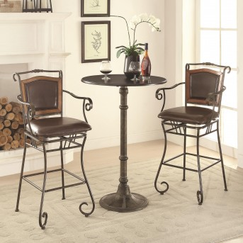 Coaster Oswego 3pc Pub Table Set Available Online in Dallas Fort Worth Texas