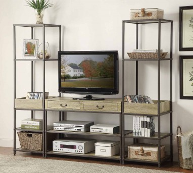 Homelegance Rumi 3pc Wall Unit Available Online in Dallas Fort Worth Texas