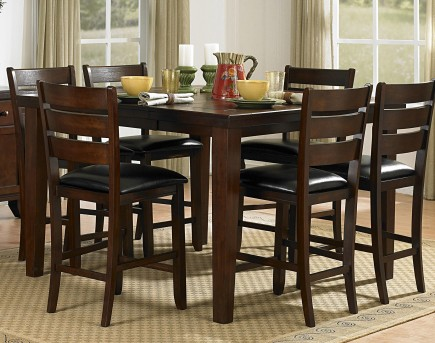 Homelegance Ameillia 5pc Counter Height Dining Room Set Available Online in Dallas Fort Worth Texas