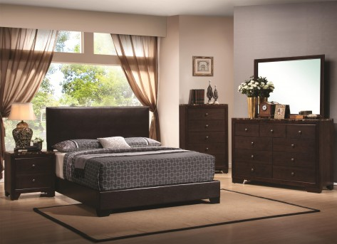 Coaster Conner Brown Full 5pc Bedroom Group Available Online in Dallas Fort Worth Texas