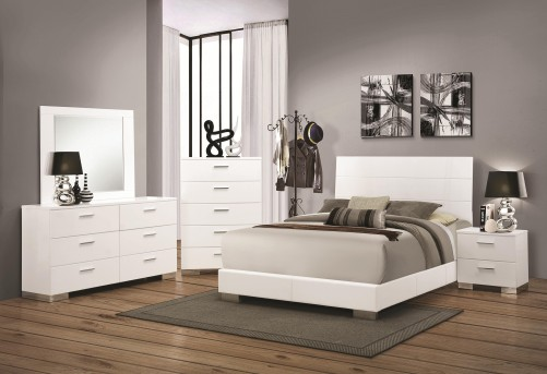 Coaster Felicity King Panel 5pc Bedroom Group Available Online in Dallas Fort Worth Texas
