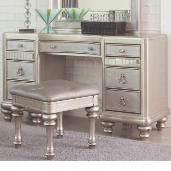 Coaster Bling Game Vanity / Desk Available Online in Dallas Fort Worth Texas