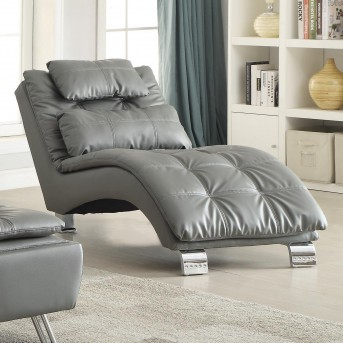 Coaster Dilleston Grey Chaise Available Online in Dallas Fort Worth Texas