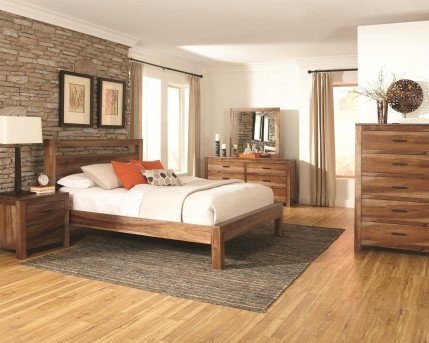 Peyton Queen 5pc Platform Bedroom Group Available Online in Dallas Texas
