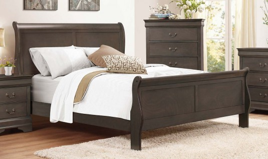 Homelegance Mayville Grey King Bed Available Online in Dallas Fort Worth Texas