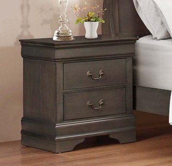 Homelegance Mayville Grey Night Stand Available Online in Dallas Fort Worth Texas