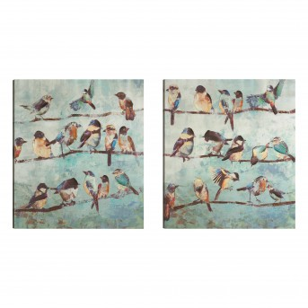 A Flock Of Early Birds Wall Art Available Online in Dallas Texas