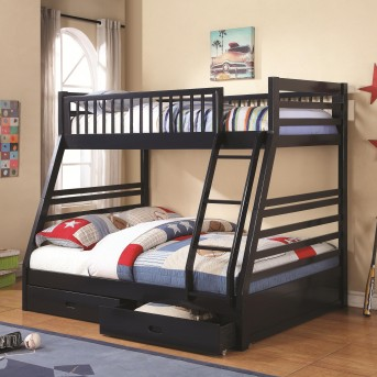 Coaster Cooper Navy Blue Twin/Full Bunk Bed Available Online in Dallas Fort Worth Texas