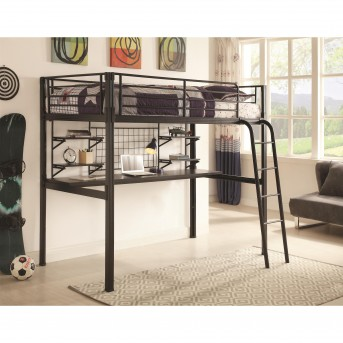 Bolt-Zero Twin Workstation Loft Bed Available Online in Dallas Fort Worth Texas
