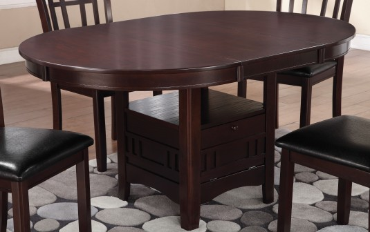 Coaster Lavon Espresso Dining Table Available Online in Dallas Fort Worth Texas
