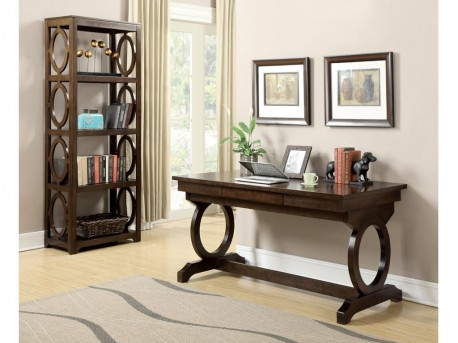 Coaster Enedina Brown Office Table Desk Available Online in Dallas Fort Worth Texas