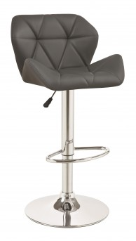 Coaster Gabriel Grey Upholstered Barstool Available Online in Dallas Fort Worth Texas