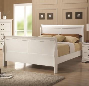 Coaster Louis Philippe White Queen Bed Available Online in Dallas Fort Worth Texas