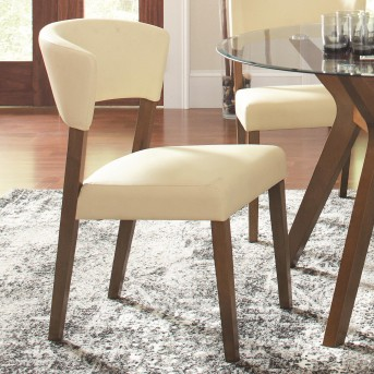Coaster Paxton Cream Side Chair Available Online in Dallas Fort Worth Texas