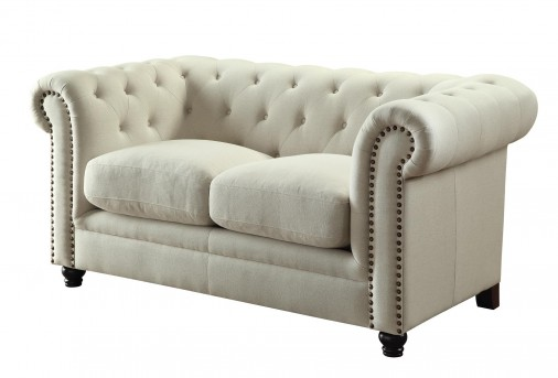 Coaster Roy Oatmeal Loveseat Available Online in Dallas Fort Worth Texas