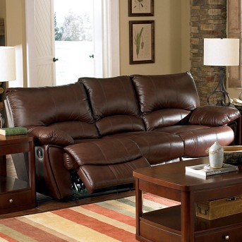 Coaster Clifford Brown Power Reclining Sofa Available Online in Dallas Fort Worth Texas