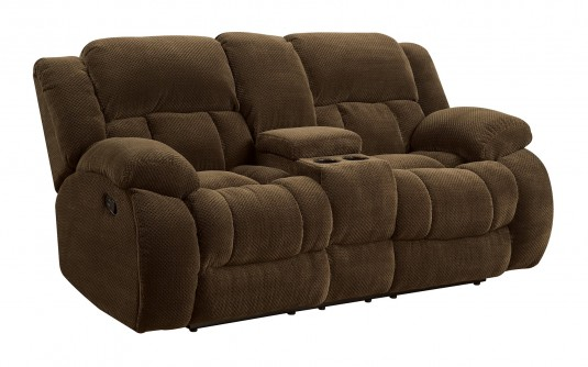 Coaster Weissman Brown Motion Loveseat Available Online in Dallas Fort Worth Texas