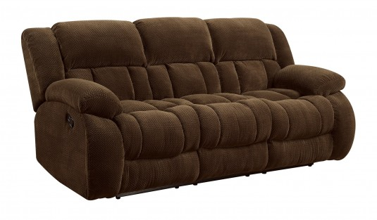 Coaster Weissman Brown Motion Sofa Available Online in Dallas Fort Worth Texas