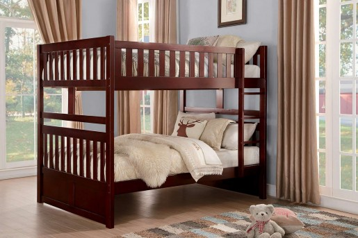 Homelegance Rowe Full/Full Bunk Bed Available Online in Dallas Fort Worth Texas