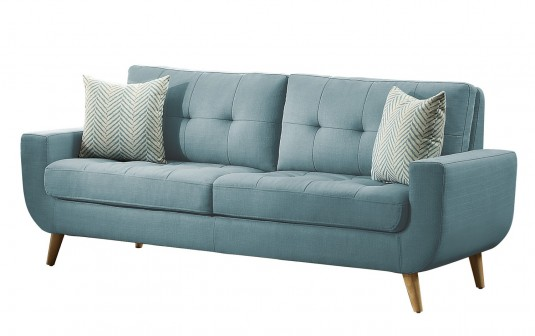Homelegance Deryn Teal Sofa Available Online In Dallas Fort Worth Texas