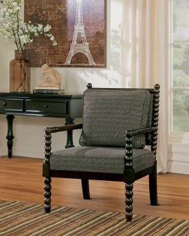 Ashley Milari Umber Accent Chair Available Online in Dallas Fort Worth Texas