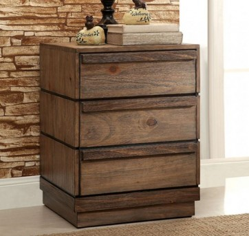 FOA Furniture Of America Coimbra Night Stand Available Online in Dallas Fort Worth Texas