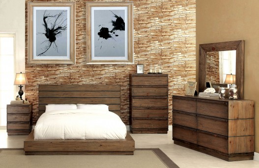 FOA Furniture Of America Coimbra King 5pc Bedroom Group Available Online in Dallas Fort Worth Texas
