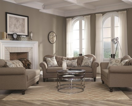 Coaster Carnahan Sofa & Loveseat Set Available Online in Dallas Fort Worth Texas