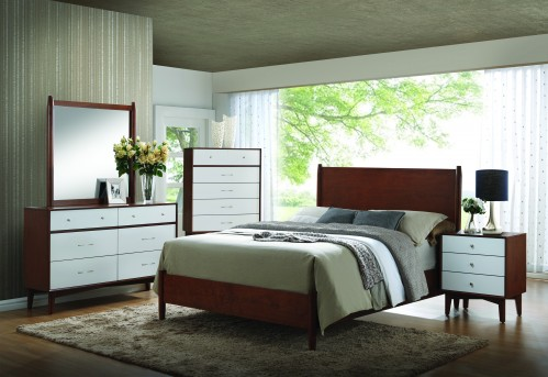 Charity Queen 5pc Low Profile Bedroom Group Available Online in Dallas Fort Worth Texas