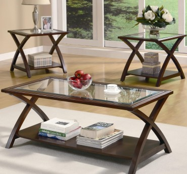 Coaster Marina 3pc Coffee Table Set Available Online in Dallas Fort Worth Texas