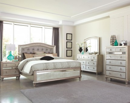 Coaster Bling Game Queen 5pc Bedroom Group Available Online in Dallas Fort Worth Texas