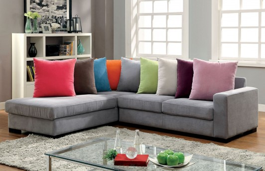 FOA Furniture Of America Rainbow Sectional Available Online in Dallas Fort Worth Texas