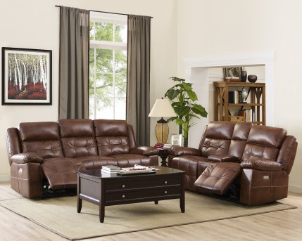 New Classic Clayton Power Sofa & Loveseat Set Available Online in Dallas Fort Worth Texas