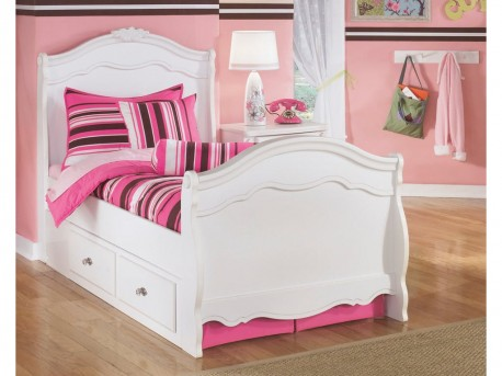 Ashley Exquisite Twin Sleigh Storage Bed Available Online in Dallas Fort Worth Texas